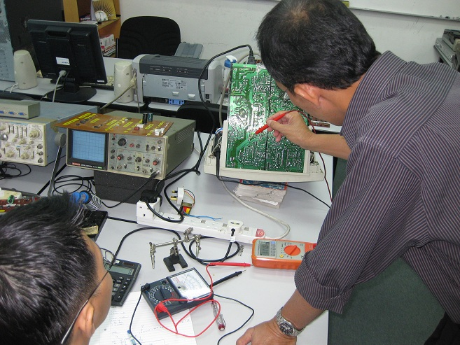 benefit in electronics repairing