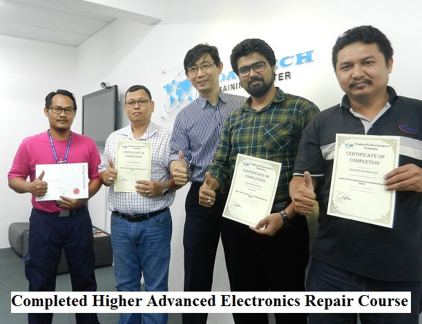 how to electronic repair course