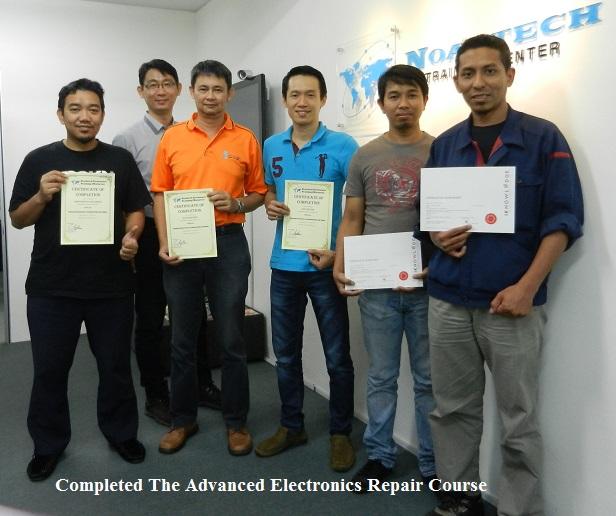 study electronics courses