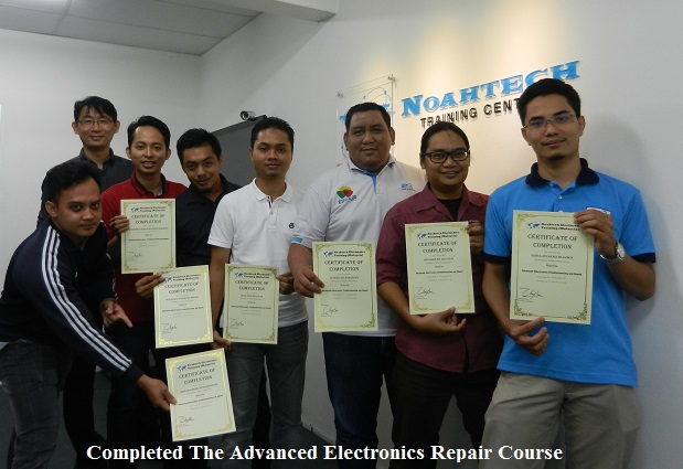 teknologi elektronik kursus membaiki